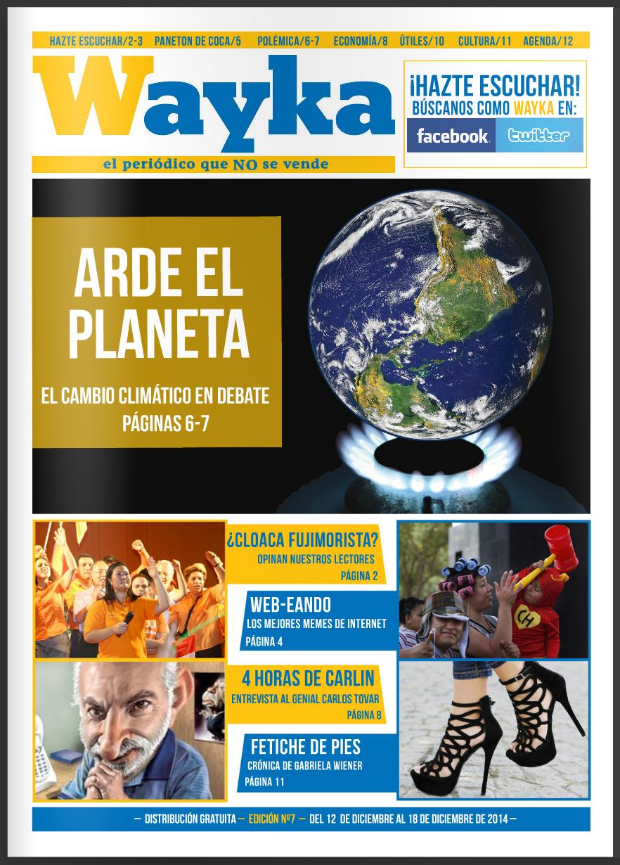 Edición #7: El Cambio Climático en Debate