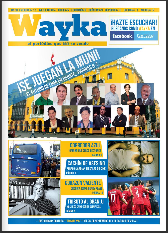Edición #6: El Futuro de Lima en Debate