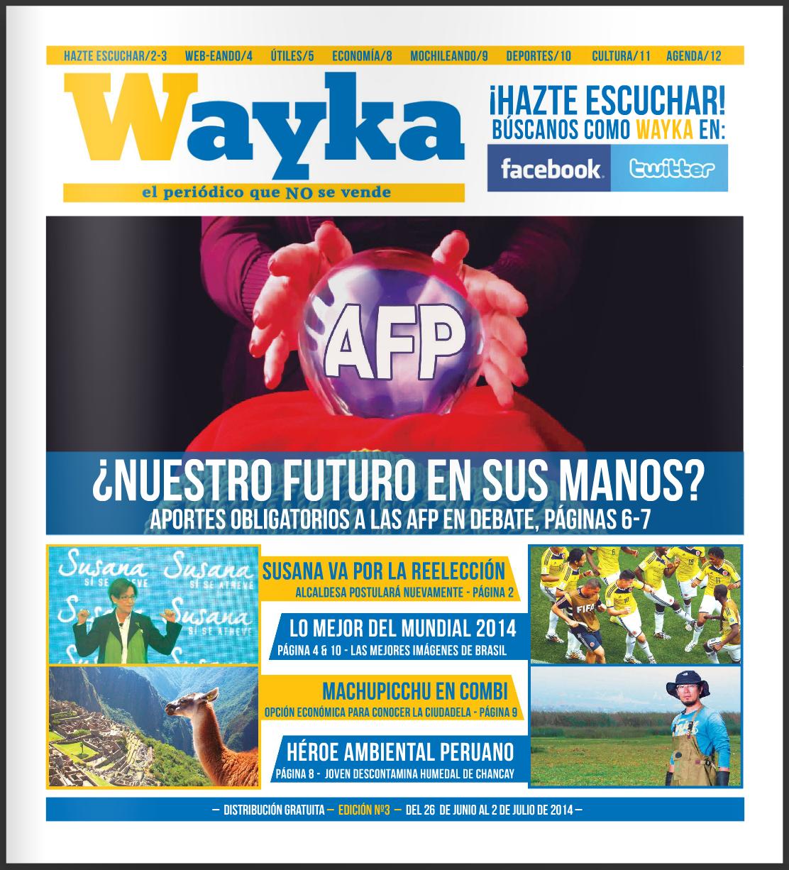 Edición #3: Aportes Obligatorios a las AFP en Debate