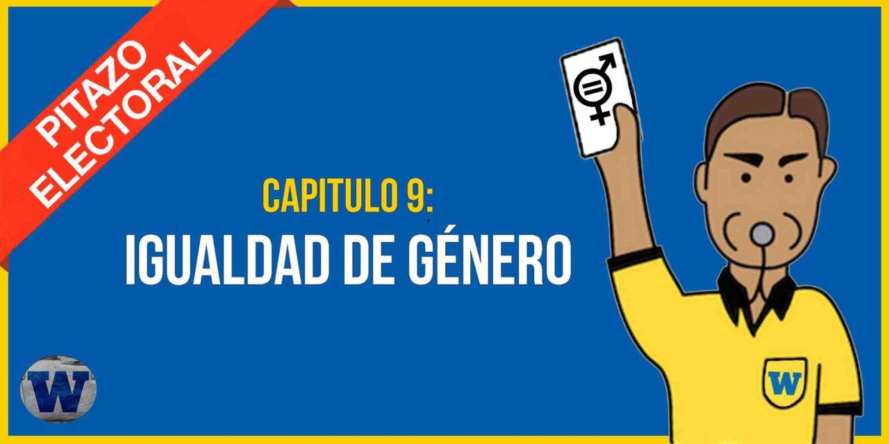 Capítulo 9: los candidatos y la IGUALDAD DE GÉNERO