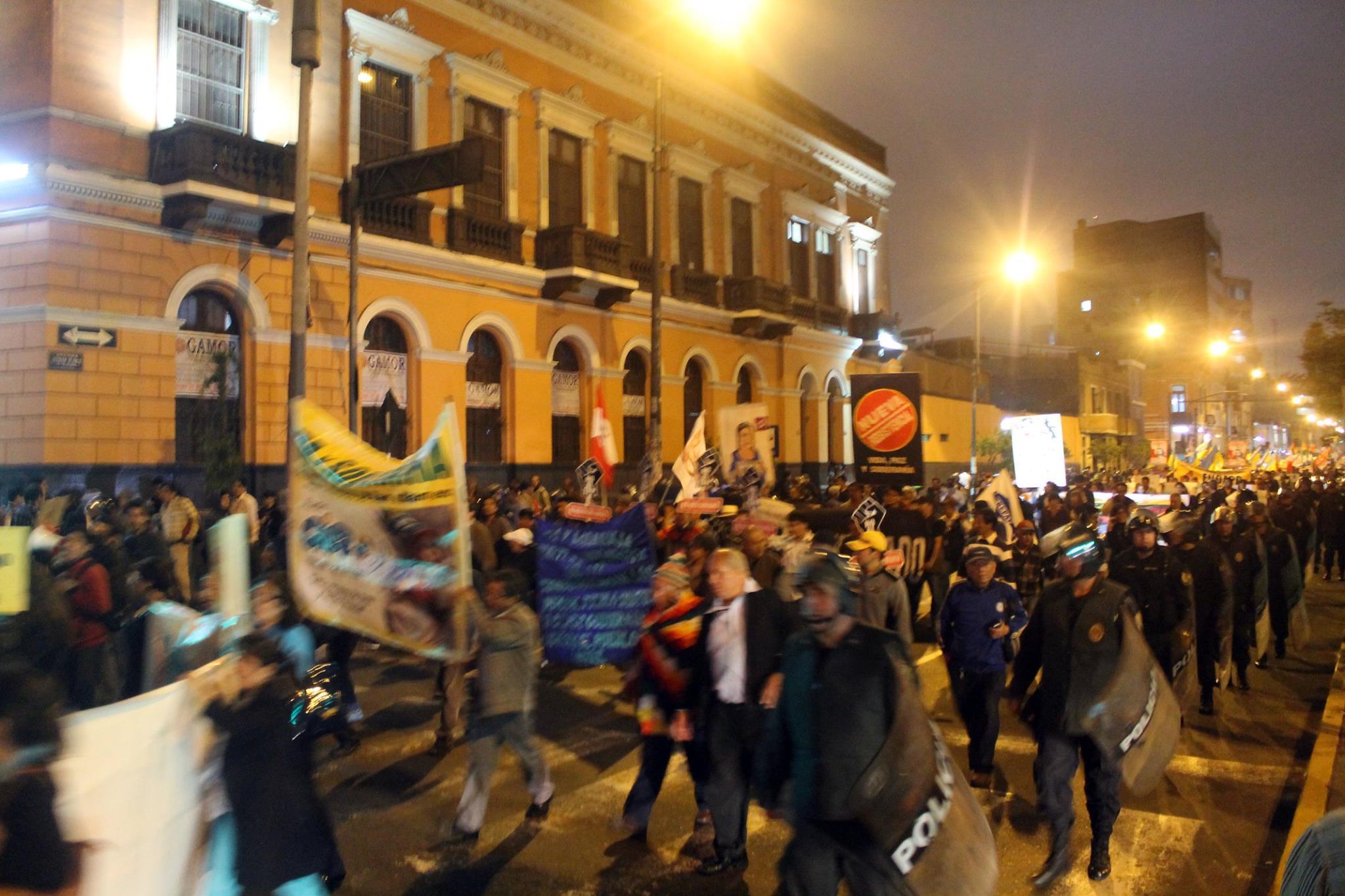 Cobertura: Marcha contra el TPP