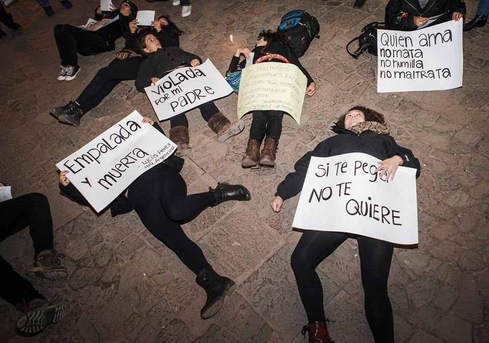 Respuesta mujeres frente a los feminicidios