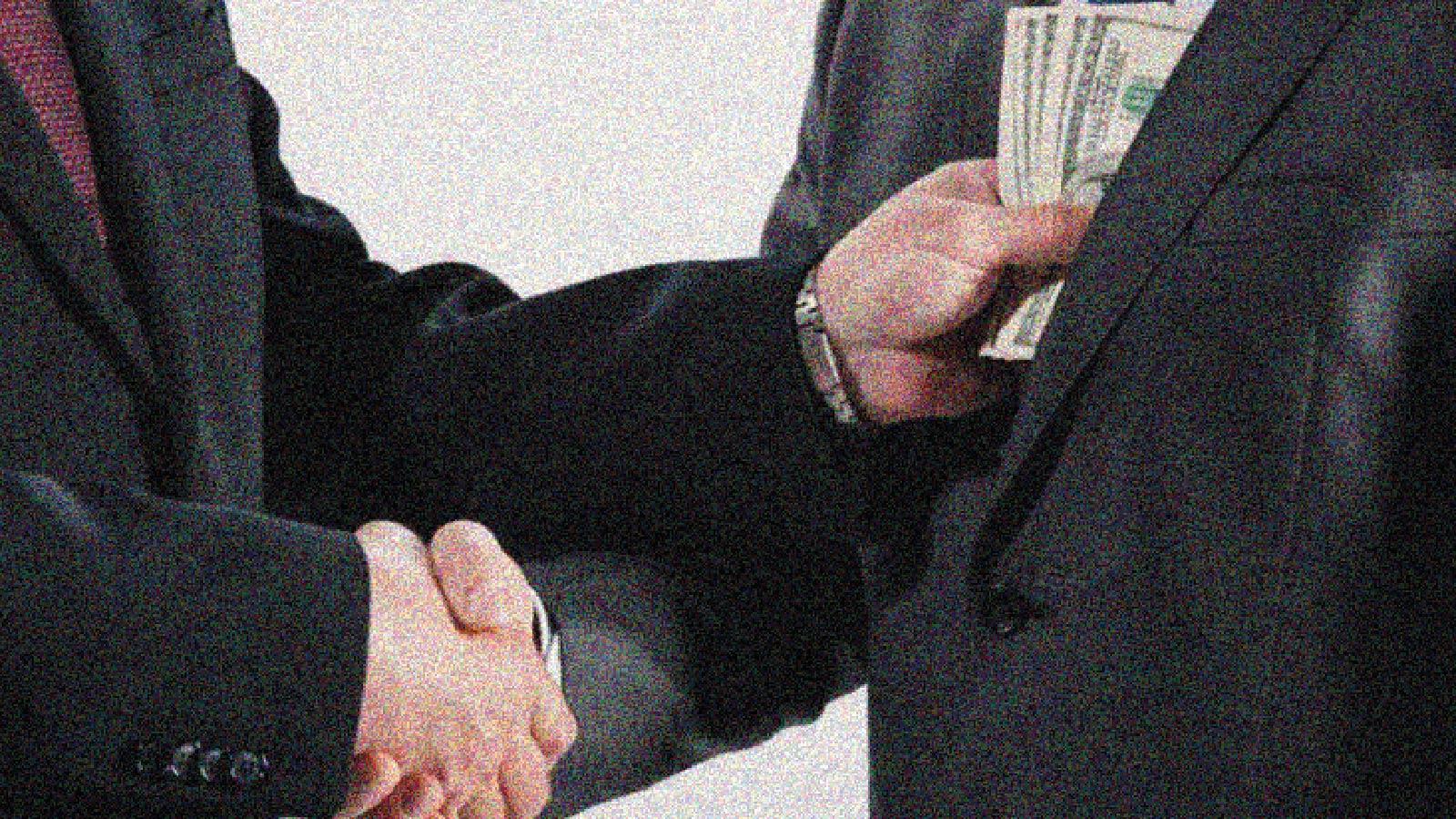 La corrupción o poder delegado contra el poder ciudadano