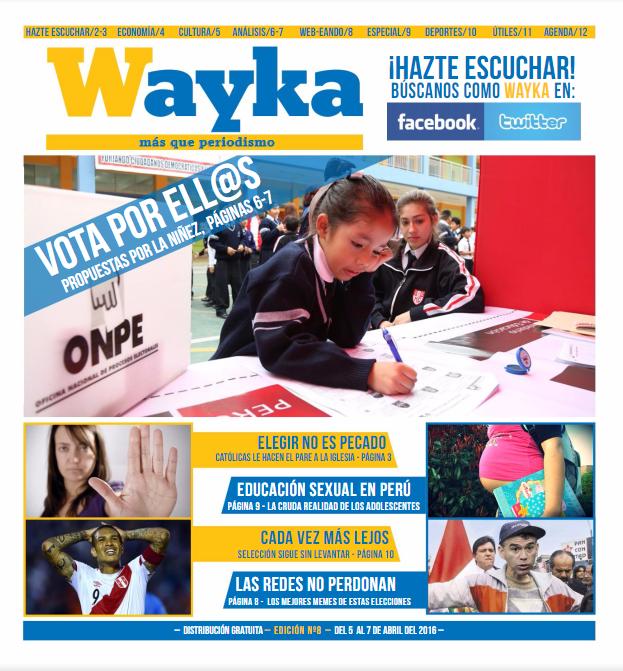 Edición #8: ¡Vota por ellos! Propuestas para la niñez