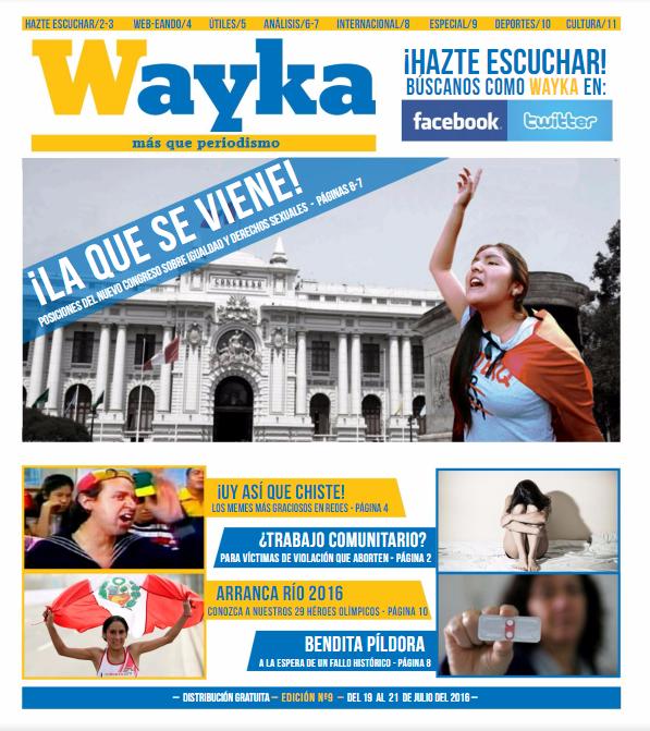 Edición #9: ¡La que se viene! Las posiciones del nuevo Congreso en Igualdad y Derechos Sexuales
