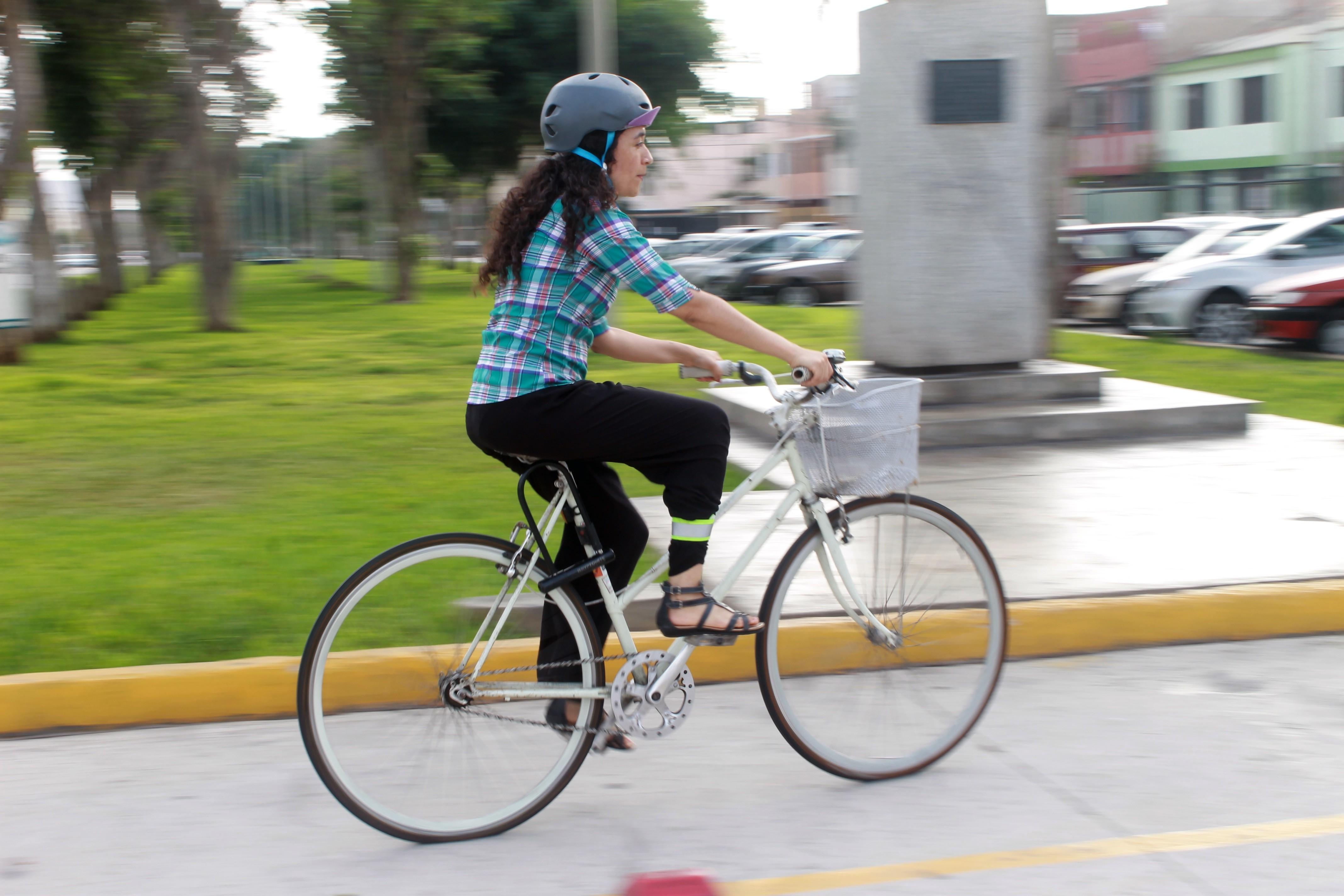 Nohelia Pasapera: Sí se puede hacer ciclismo en Lima
