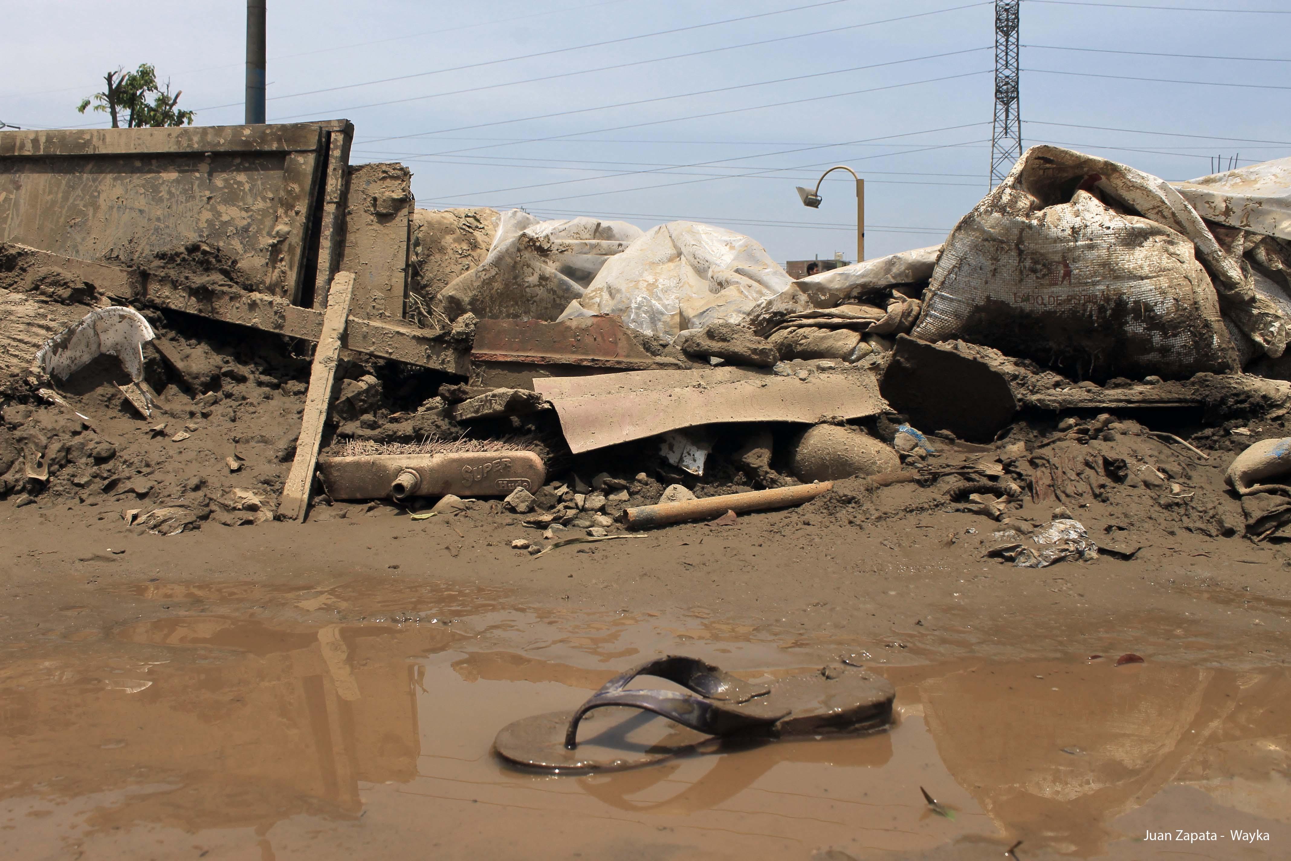 Fotogalería: Desbordes en San Juan de Lurigancho y Chosica
