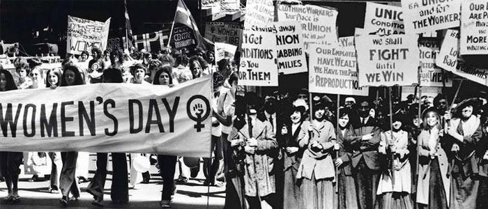 8 de marzo, día de luchas y reivindicaciones