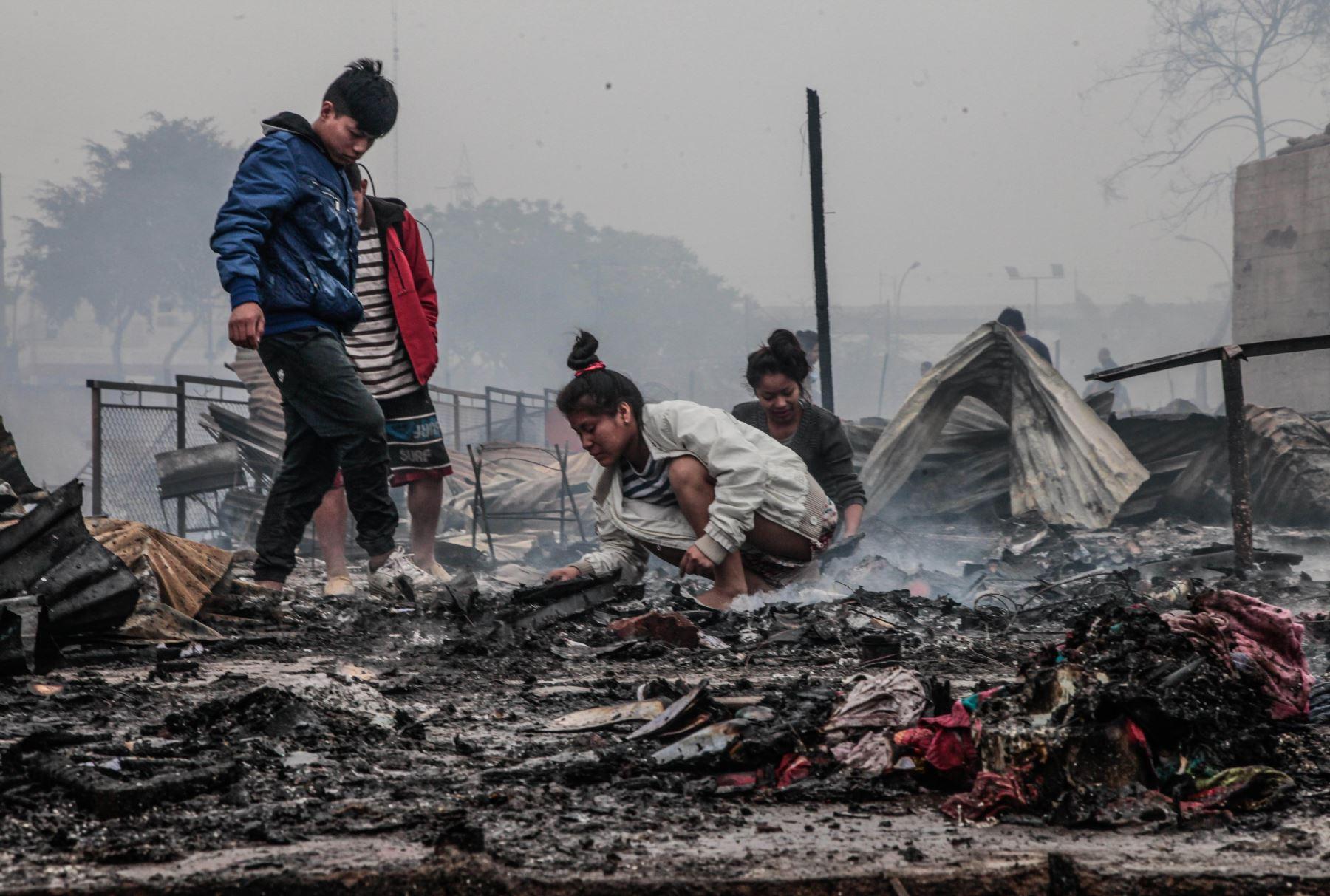 Incendio en Cantagallo dejo más de 2000 damnificados