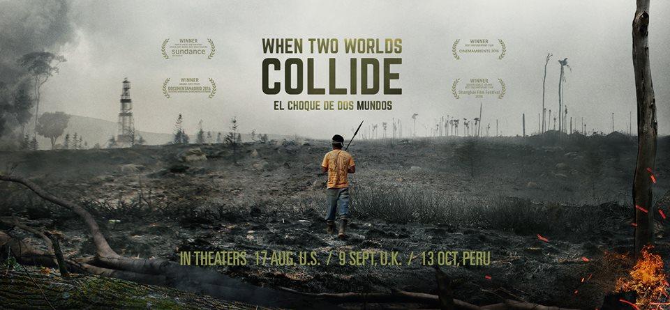 """""""El choque de dos mundos"""", película sobre el Baguazo se estrena hoy."""