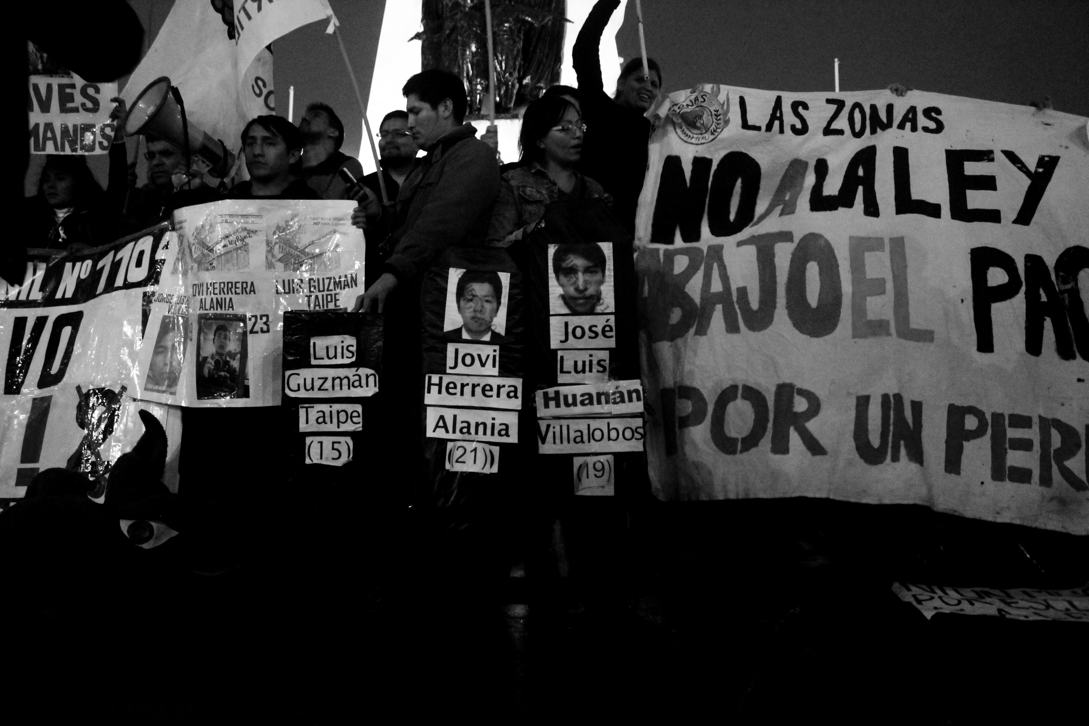 [Galería] Cientos de jóvenes marcharon por derechos laborales justos