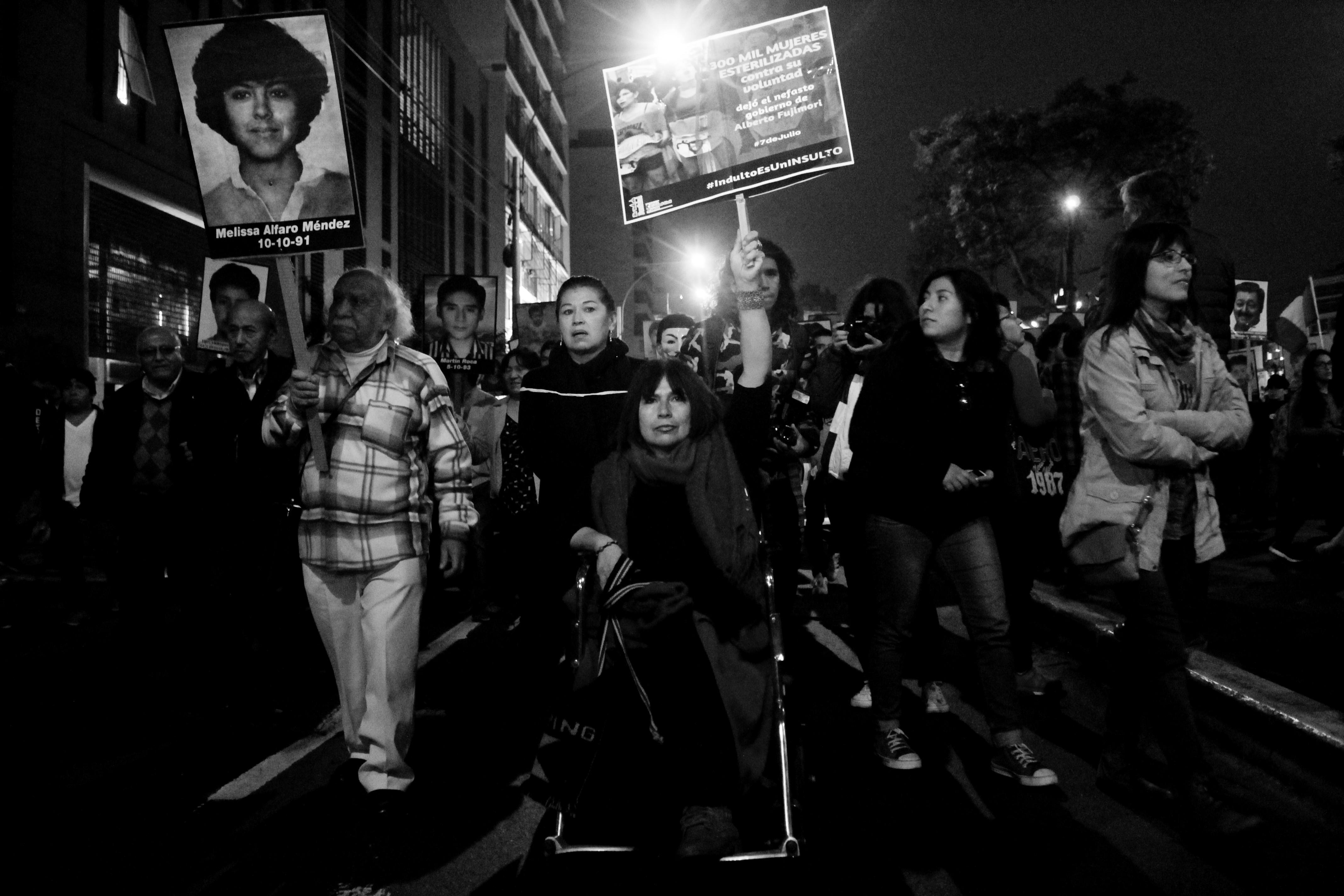 [GALERÍA] Ni olvido ni perdón: Así se vivió la marcha contra el indulto a Fujimori