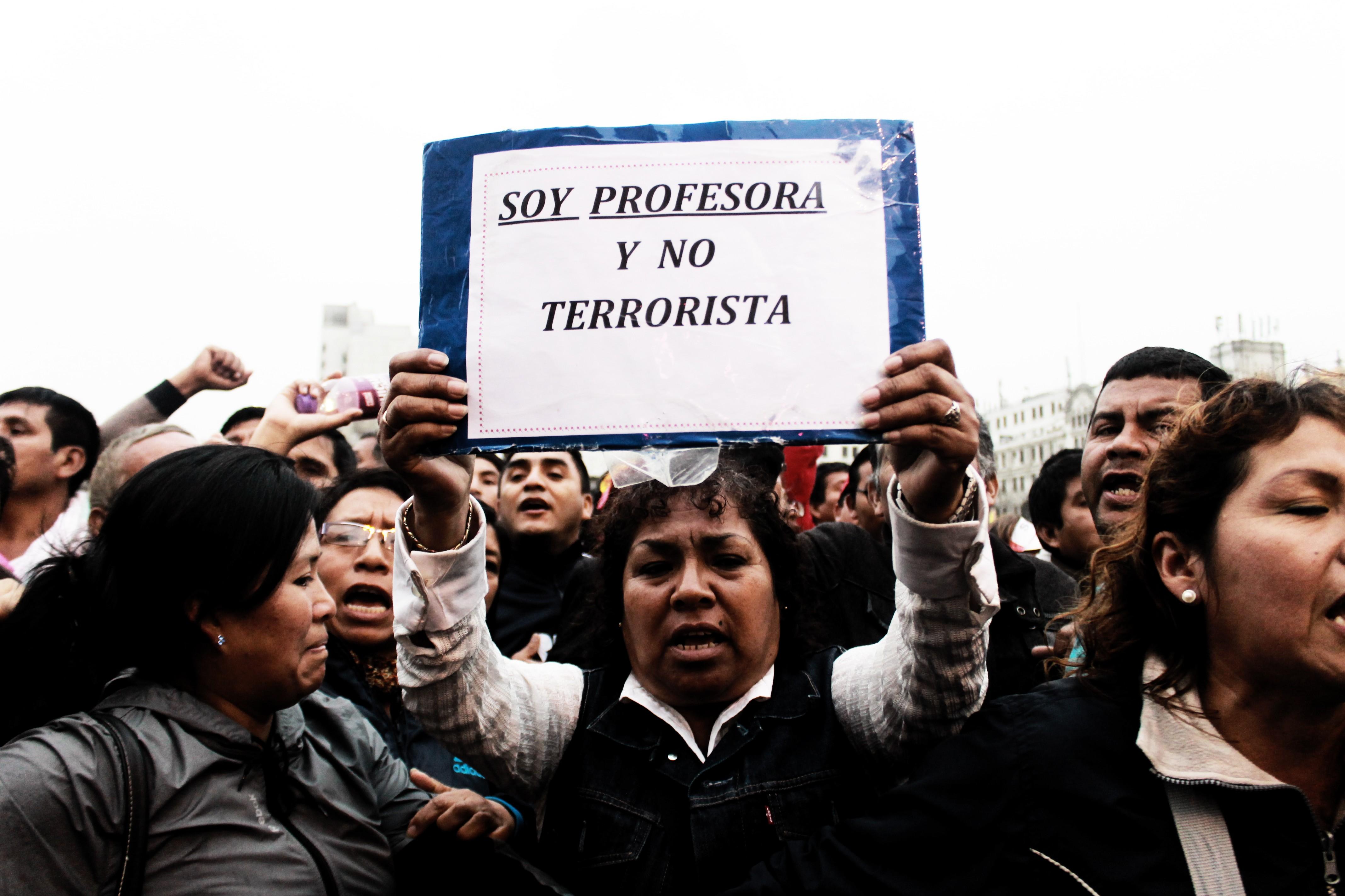 [Fotogalería] La lucha de los docentes por una mejor educación
