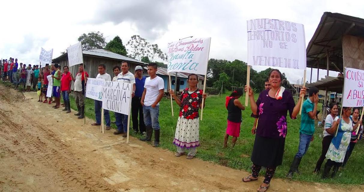 #SinConsultaNoHayPetroleo: Una semana de paralización del Lote 192