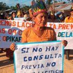 #SinConsultaNoHayPetróleo: La amazonia en pie de lucha por temor a 30 años más de contaminación
