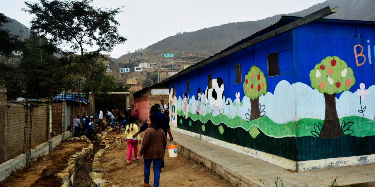 Angelitos de Moruta, el centro educativo abandonado por el Estado