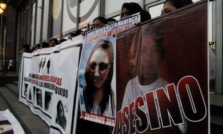 Banderolazo por las mujeres desaparecidas