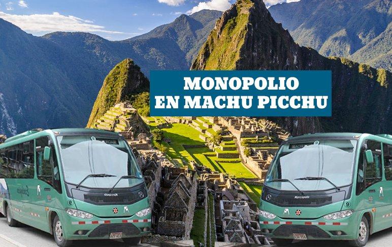 <H1>Denuncian monopolio de buses para ir a Machu picchu</H1>-<p style='font-weight: normal;'>Son miles los turistas que llegan al Perú para visitar Machu Picchu, y para poder acceder a la ciudadela Inca deben formar largas colas en Aguas Calientes, donde abordan uno de los 24 buses de Consettur, el único consorcio que opera en la vía.</P></H6>