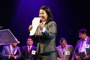 Durante la campaña electoral 2016, Agua Viva ceció el Amauta para que sea el escenario de un encuentro entre los grupos evangélicos y Keiko Fujimori. No fue la primera vez que manifestaban su apoyo al fujimorismo, en 2013 pidieron el indulto para el reo Alberto Fujimori.