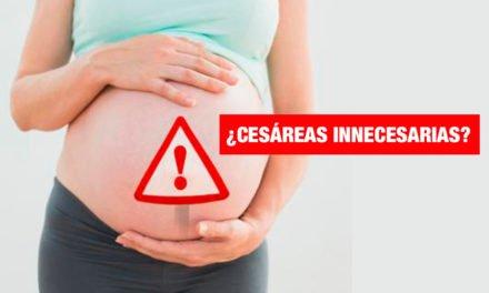 OMS: Solo 15 de cada 100 partos deberían ser por cesárea