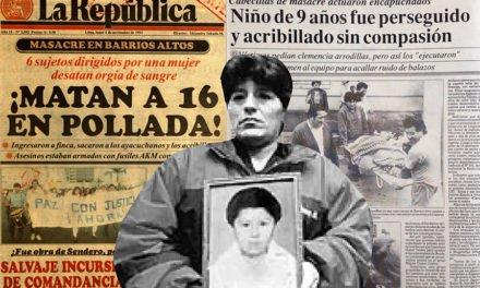 Recorderis sobre la matanza en Barrios Altos