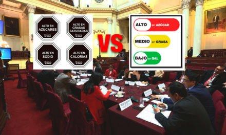 Ley de alimentación saludable: Congreso se negó a recibir a médico de la OMS