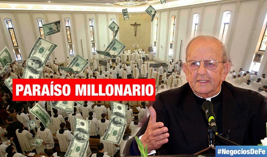 #NegociosDeFe | Los paraísos fiscales de los Legionarios de Cristo