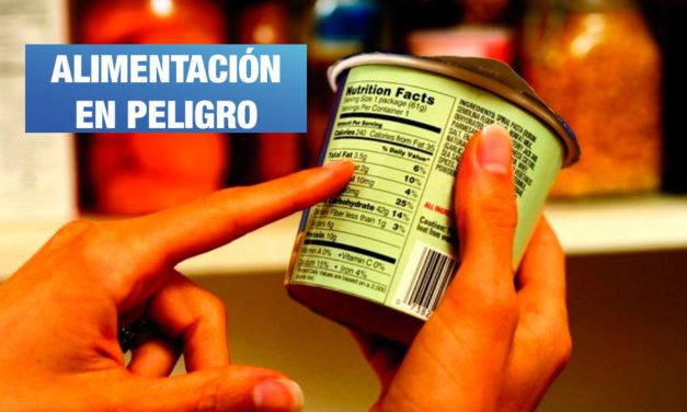 <H1>Alimentación saludable en riesgo</H1>-<p style='font-weight: normal;'>Industria y fujimorismo preparan modificación de ley </P></H6>