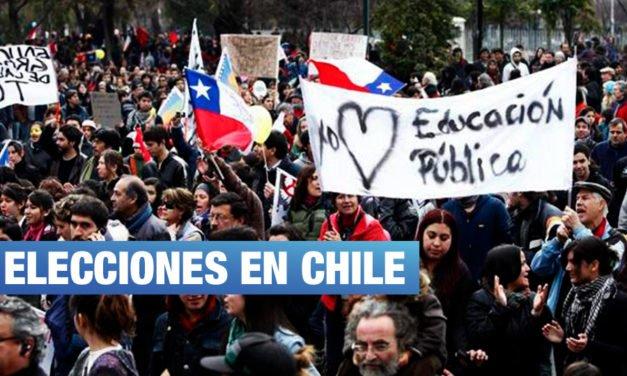 Elecciones en Chile: ¿Tiembla el proyecto neoliberal?