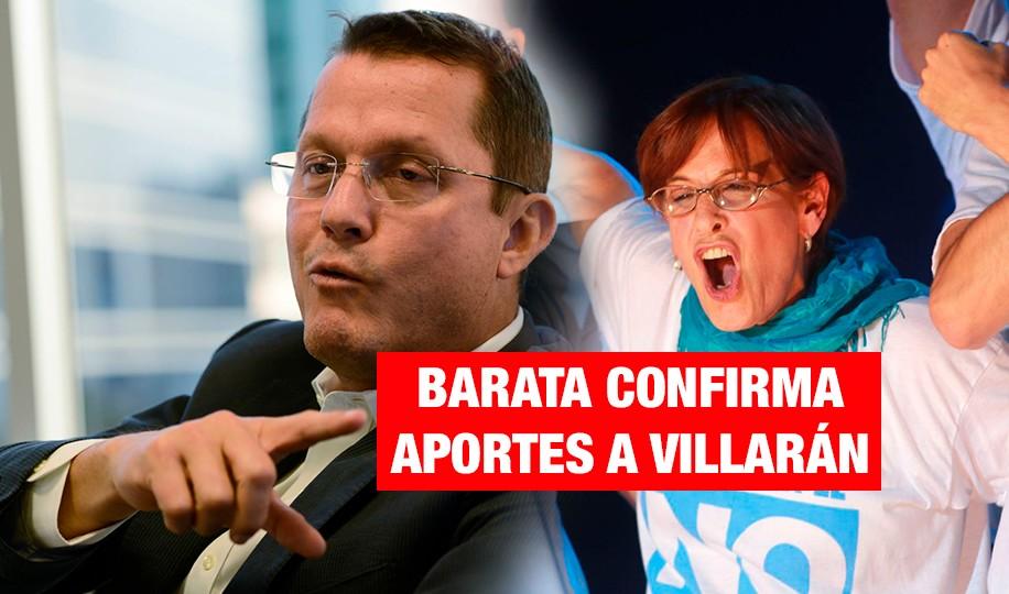 <H1>Barata: Villarán pidió US$3 millones para la campaña contra la revocatoria</H1>-<p style='font-weight: normal;'>El exrepresentante de Odebrecht en Perú, Jorge Barata, confesó ante los fiscales brasileños el pedido de Susana Villarán para la campaña del No, según IDL - Reporteros. </P></H6>