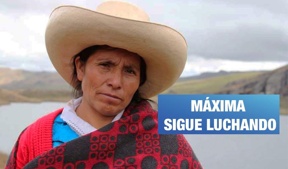 Máxima Acuña denuncia al Estado peruano ante la CIDH