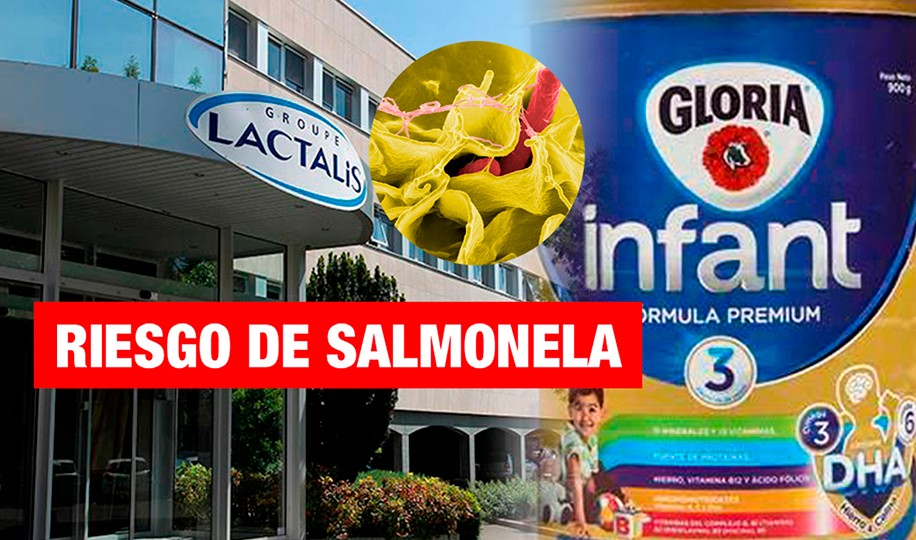 Lanzan alerta de riesgo de salmonella por consumo de Gloria Infant Stage 3