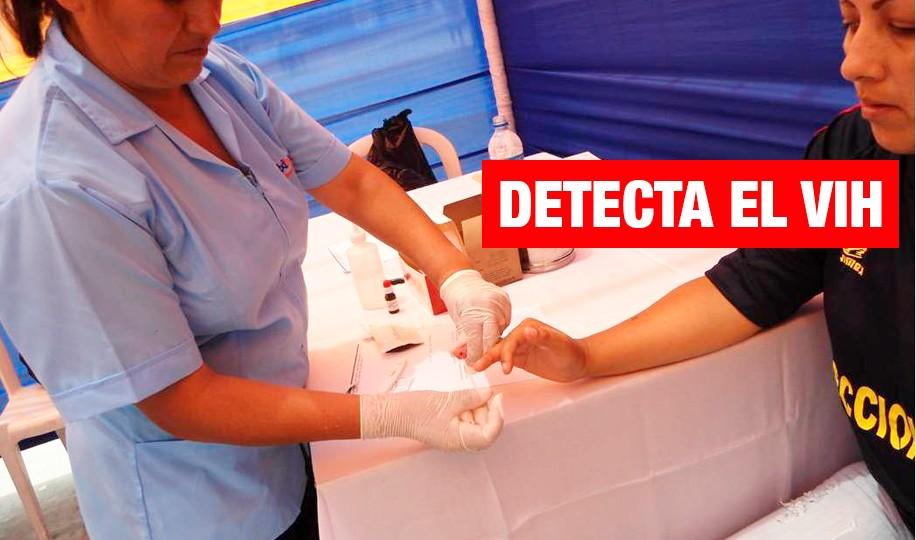 Campaña de despistaje de VIH/SIDA