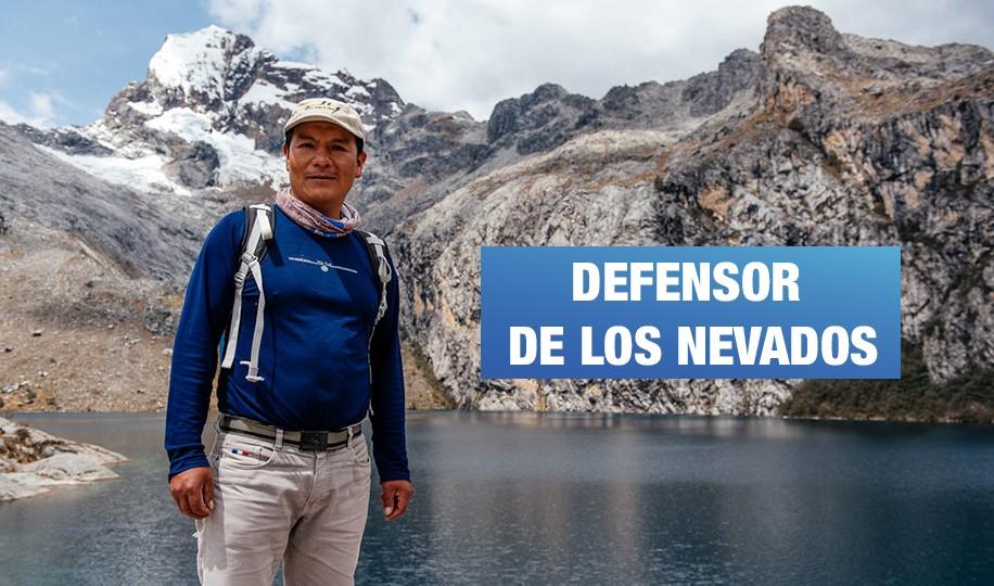 Peruano defiende nevados andinos de una transnacional de energía alemana