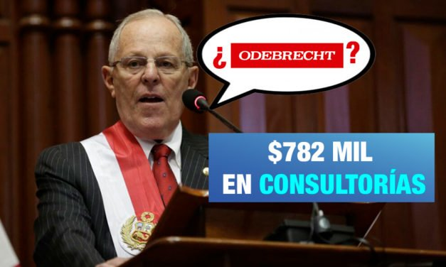 Odebrecht afirma que pagó US$782 mil dólares a empresa de PPK