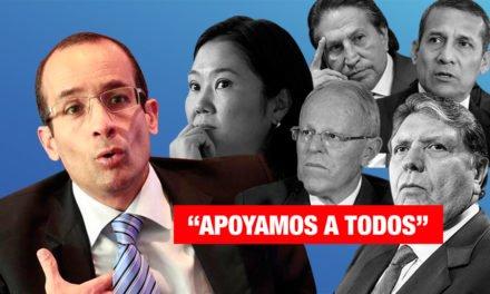 """Marcelo Odebrecht: """"Apoyamos a todos"""""""