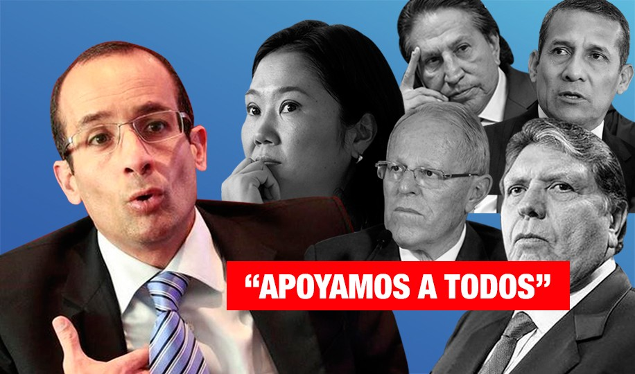 Marcelo Odebrecht: «Apoyamos a todos»