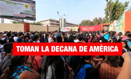 UNMSM: Estudiantes toman la universidad por inactividad de autoridades
