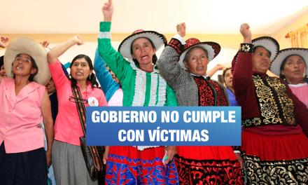 Gobierno deja sin presupuesto a víctimas de esterilizaciones forzadas