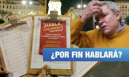 <H1>Luis Castañeda tendrá que rendir cuentas a limeños</H1>-<p style='font-weight: normal;'>Colectivo ciudadano completó las 25 mil firmas necesarias para demanda de rendición de cuentas.</P></H6>