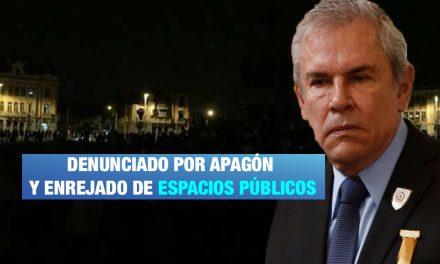 Denuncian penalmente a Luis Castañeda por corte de luz durante protesta