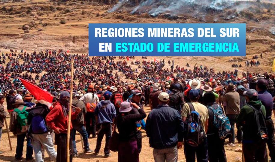 Apurímac: Cotabambas lleva seis meses en Estado de Emergencia