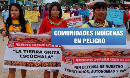 Congreso promulga ley que atenta contra comunidades indígenas