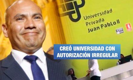 Joaquín Ramírez denunciado por creación de universidad