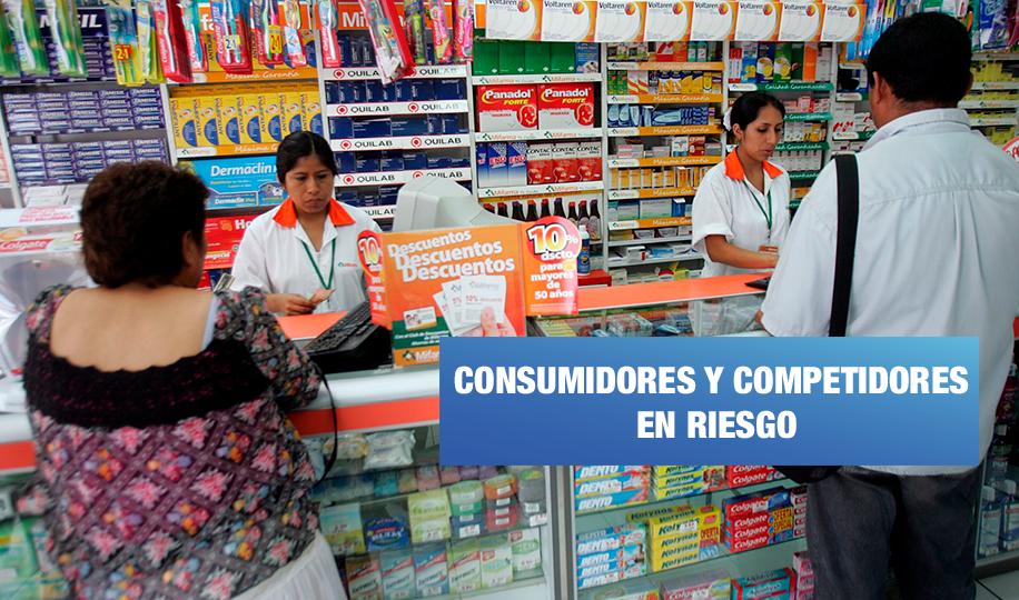 Compra de farmacias de Intercorp afectará a consumidores y competidores
