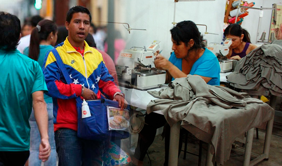 Ni venezolano explotado ni peruano barato