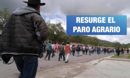 Agricultores se alistan para retomar el Paro Agrario