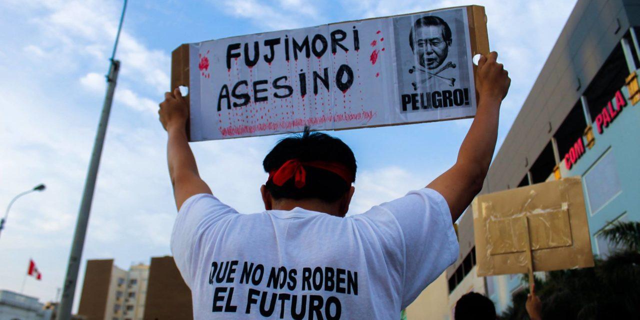 4ta movilización contra el indulto a Fujimori #IndultoEsInsulto