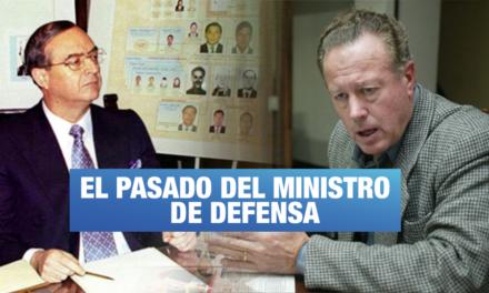 Ministro de Defensa fue condenado por desfalco junto a testaferros de Montesinos