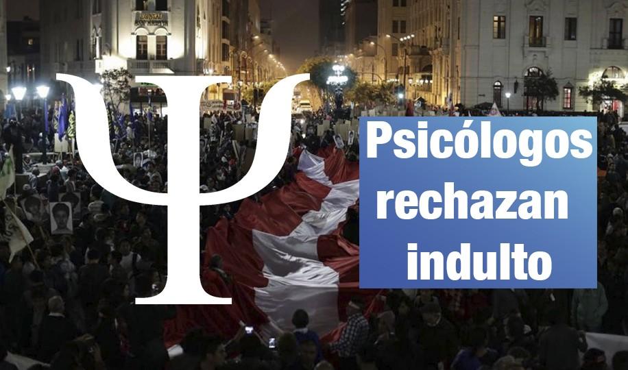 Más de 500 psicólogos se pronuncian contra indulto